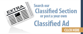 Search our Classified Section or post your own Classified Ad